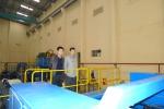 Chủ tịch Tập đoàn Geleximco,Tổng giám đốc Gelexim công tác tại nhà máy giấy An Hòa